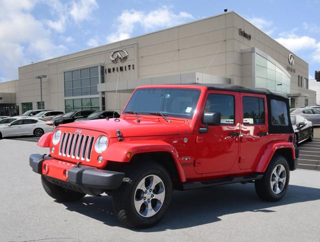 Pre Owned 2016 Jeep Wrangler Unlimited