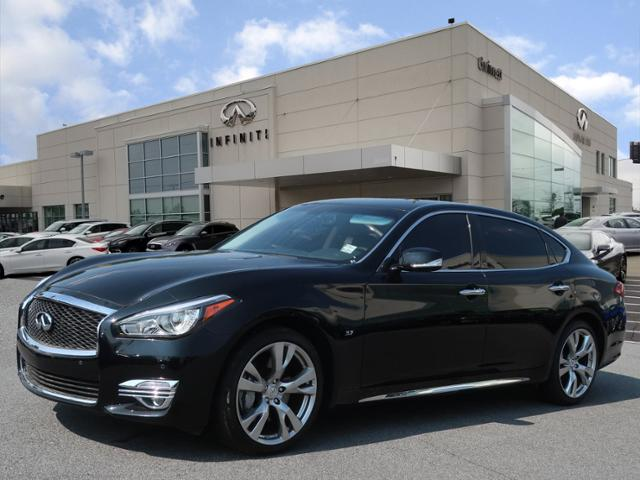 Certified Pre-Owned 2018 INFINITI Q70L 3.7 LUXE