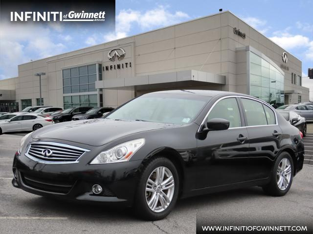 Pre-Owned 2012 INFINITI G25 Sedan Journey