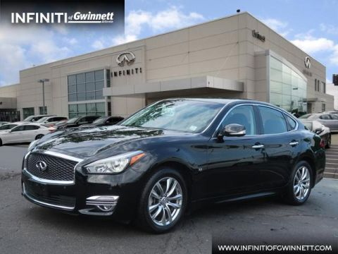 Certified Pre-Owned 2019 INFINITI Q70 3.7 LUXE