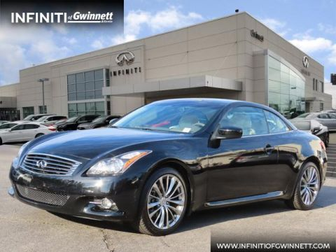 Pre-Owned 2011 INFINITI G37 Convertible Base