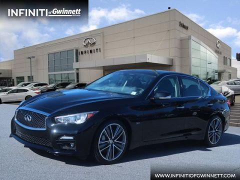 Certified Pre-Owned 2017 INFINITI Q50 3.0t Sport