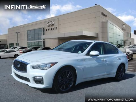 Certified Pre-Owned 2016 INFINITI Q50 3.0t Red Sport 400