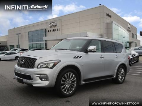 Certified Pre-Owned 2016 INFINITI QX80